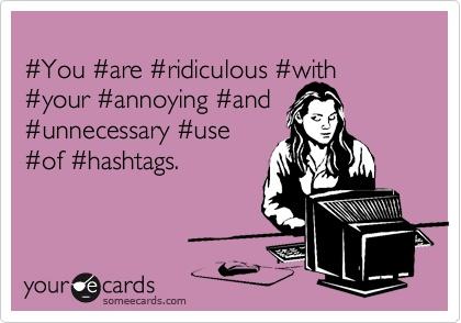 Hashtag Meme