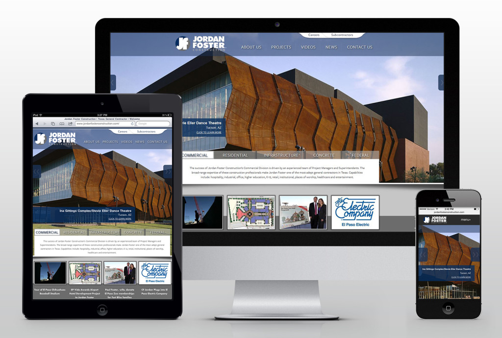 Jordan Foster Construction Responsive Website