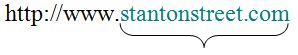 Stanton Street URL