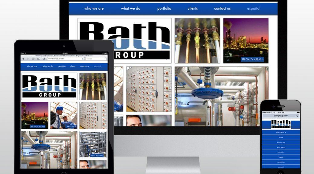 bathgroup.com homepage screenshot