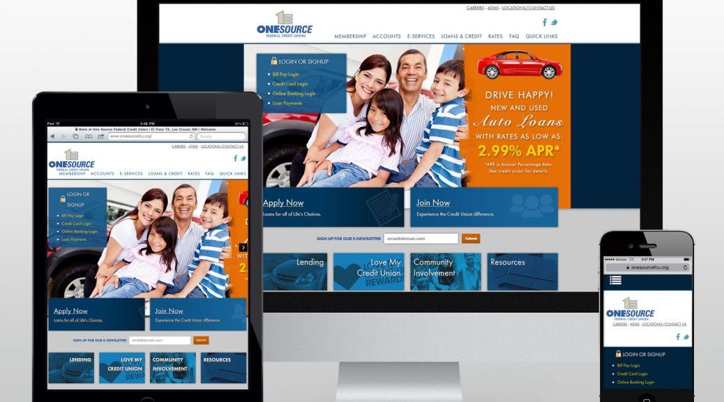 onesourcefcu.org homepage screenshot