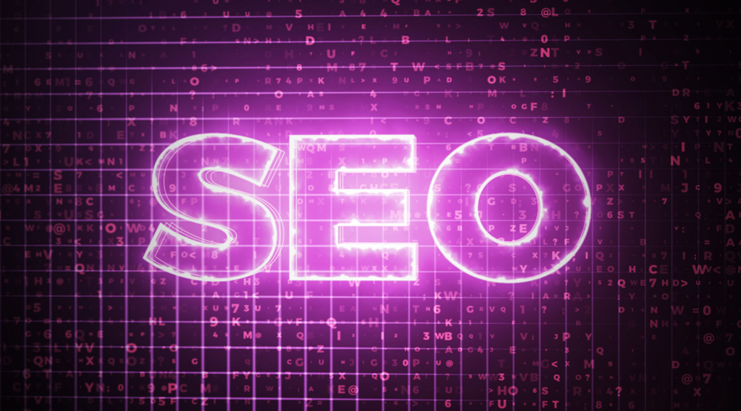SEO in lights
