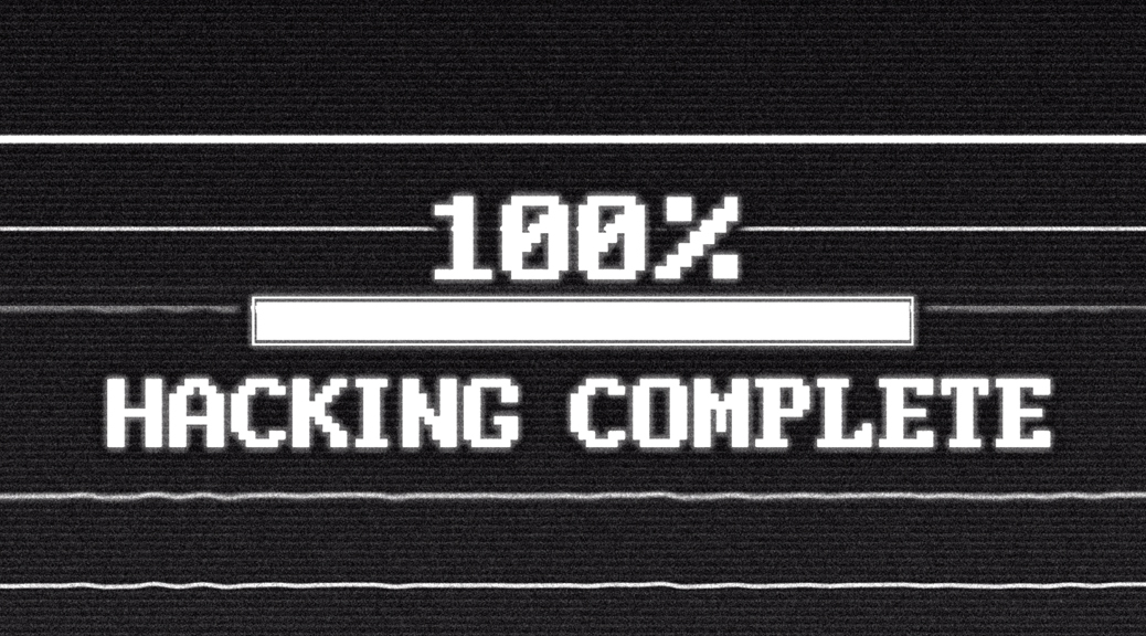 100% Hacking Complete