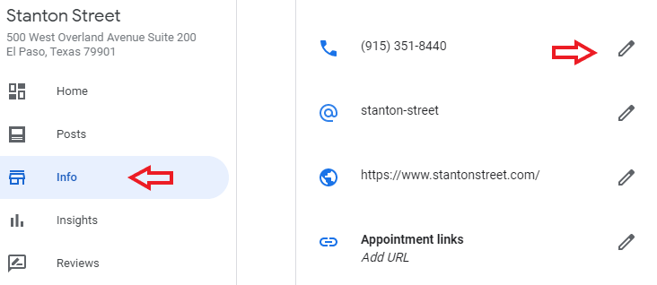 How to update your Google My Business listing phone number